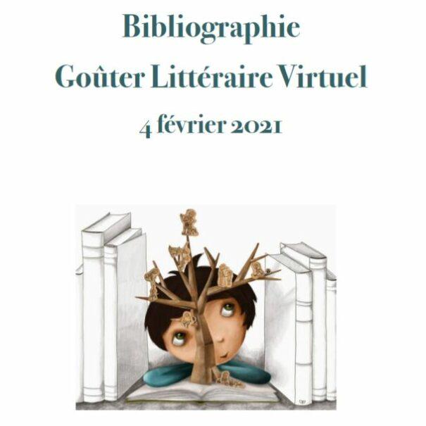 Bibliographie goûter littéraire février 2021