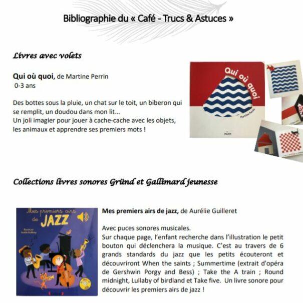 Bibliographie Café Trucs et Astuces